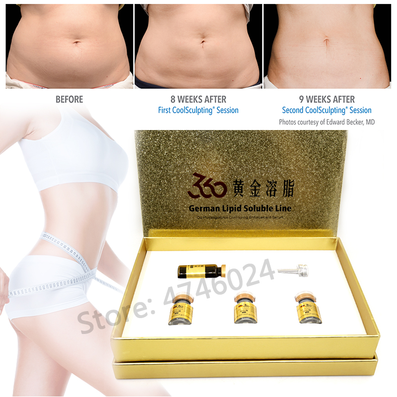 5ml German Lipolysis Lipid Hyaluronic Acid Solution Body Liposuction Lipolytic Bye Bye Fat Weightloss For Mesotherapy Injection