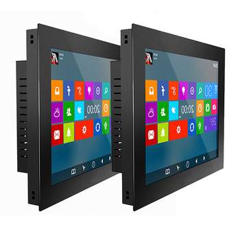 OEM embedded pc all in one 15 inch industrial resistive/capacitive touch screen panel pc