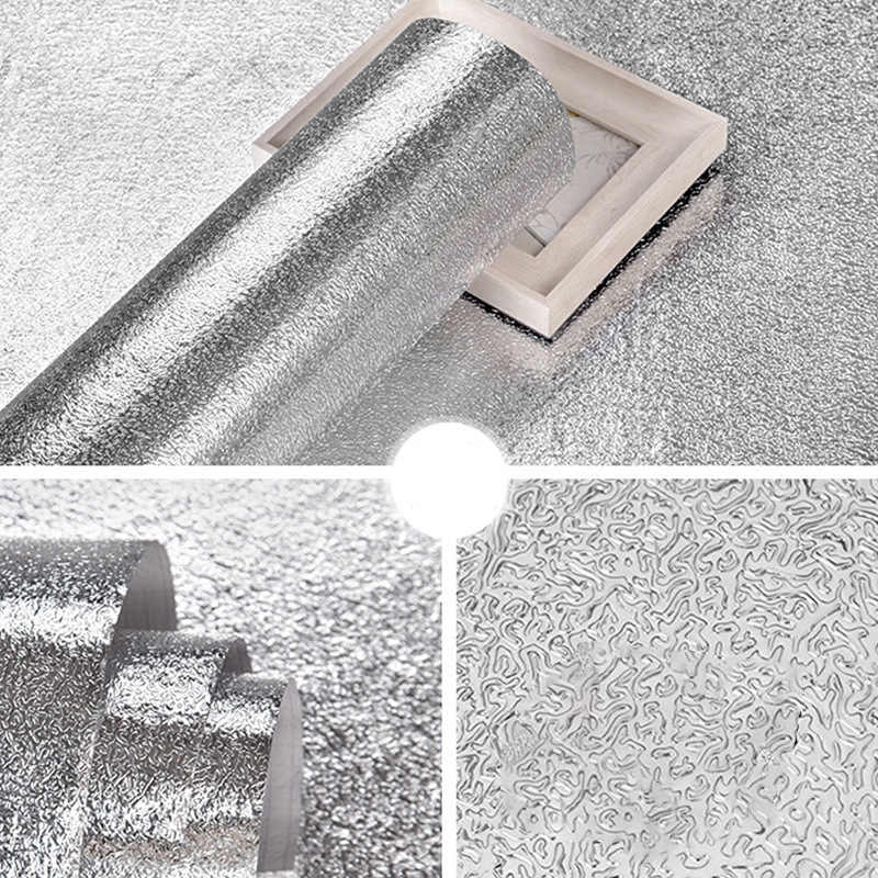JOYLIVE נשלף קשר נייר בית תפאורה עצמי דבק PVC טפט למטבח קירות שמן הוכחה עמיד למים קליפת מקל
