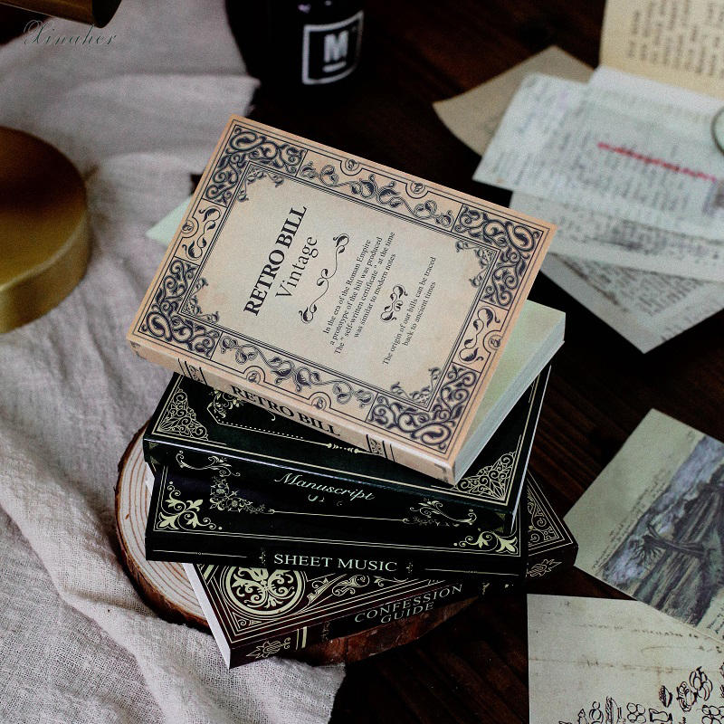 120 шт./компл. Коллекция серии Старая книга материал бумага мусор Журнал Планировщик для скрапбукинга винтажные декоративные поделки Сделай Сам бумага|Крафт-бумага|   | АлиЭкспресс