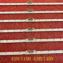 Led-Backlight-Strip UN43NU7100 Samsung for Un43nu7100/Ue43nu7100/Ue43nu7100u 30pcs/Lot