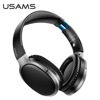 USAMS Wireless Headphone Bluetooth Earphones 3D Sound Sports Noise Cancelling Headset With Mic For Android Iphone Huawei Xiaomi Samsung