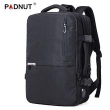 Противоугонный рюкзак для ноутбука для мужчин и женщин рюкзак для ноутбука 17 дюймов usb зарядка рюкзак для путешествий водонепроницаемый Mochila мужской задний пакет сумка
