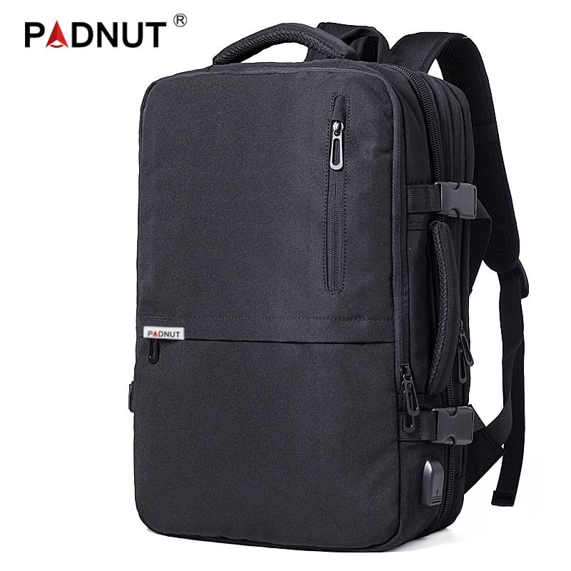 Anti Theft Backpack Laptop Men Women Notebook Backpack 17 Inch USB Charging Bagpack Travel Waterproof Mochila Male Back Pack Bag