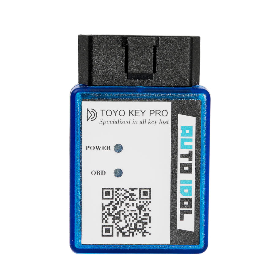 Newest TOYO <font><b>KEY</b></font> PRO OBD II for <font><b>Toyota</b></font> 40/80/128 BIT (<font><b>4D</b></font>, <font><b>4D</b></font>-G, <font><b>4D</b></font>-H) All <font><b>Key</b></font> Lost (plug-and-play) Used Alone image