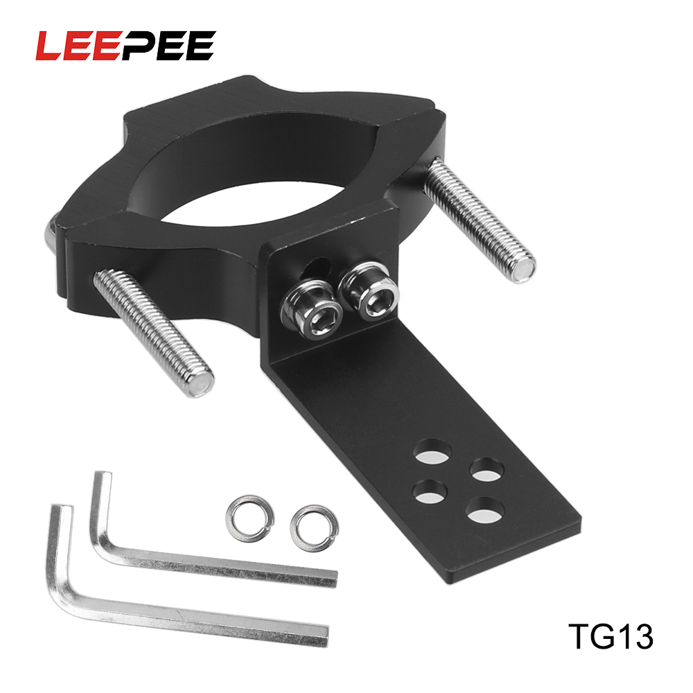 Motorcycle Headlight Bracket Spotlight Holder Adjustable Clamp TG11 TG13 Universal Mount Aluminum Alloy Motorcycle Accessories
