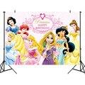 1 шт шесть принцесса фотографии украшения фоны виниловый тканевый фон для фотостудии фото съемки фон для фотосъемки для детей платье для де...