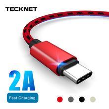 Usb-кабель 2A для быстрой зарядки USB type-C кабель из алюминиевого сплава с оплеткой для зарядки мобильного телефона кабель Micro usb для зарядки и передачи данных