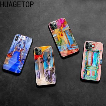Funda de teléfono personalizada con cristal templado para iPhone11 Pro XR XS...