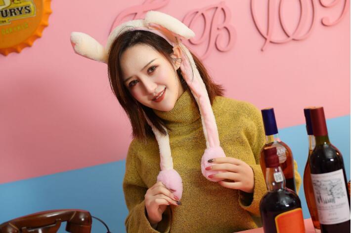 as orelhas de um coelho mover headbands
