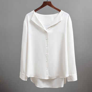 Casual Solid Female Shirts Outwear 3