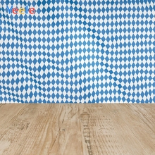 Yeele Oktoberfest Carnival Retro Wood Squares Decor Photography Backdrops Personalized Photographic Backgrounds For Photo Studio