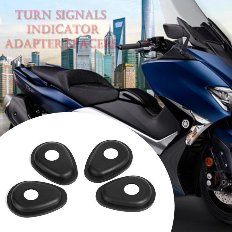פלאזמה 4pcs אופנוע קדמי / אחורי אותות Turn חיווי מתאם מרווחים עבור YAMAHA FZ1 FZ6 FZ8 FZ16 XJ6 XSR 700/900 MT-09 Tracer (5)