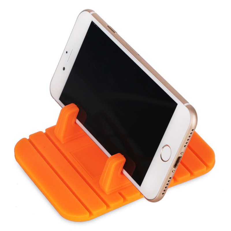 Mat Desktop-Stand-Bracket Dashboard Car-Phone-Holder GPS Anti-Slip Hi-Dropship Soft-Silicone