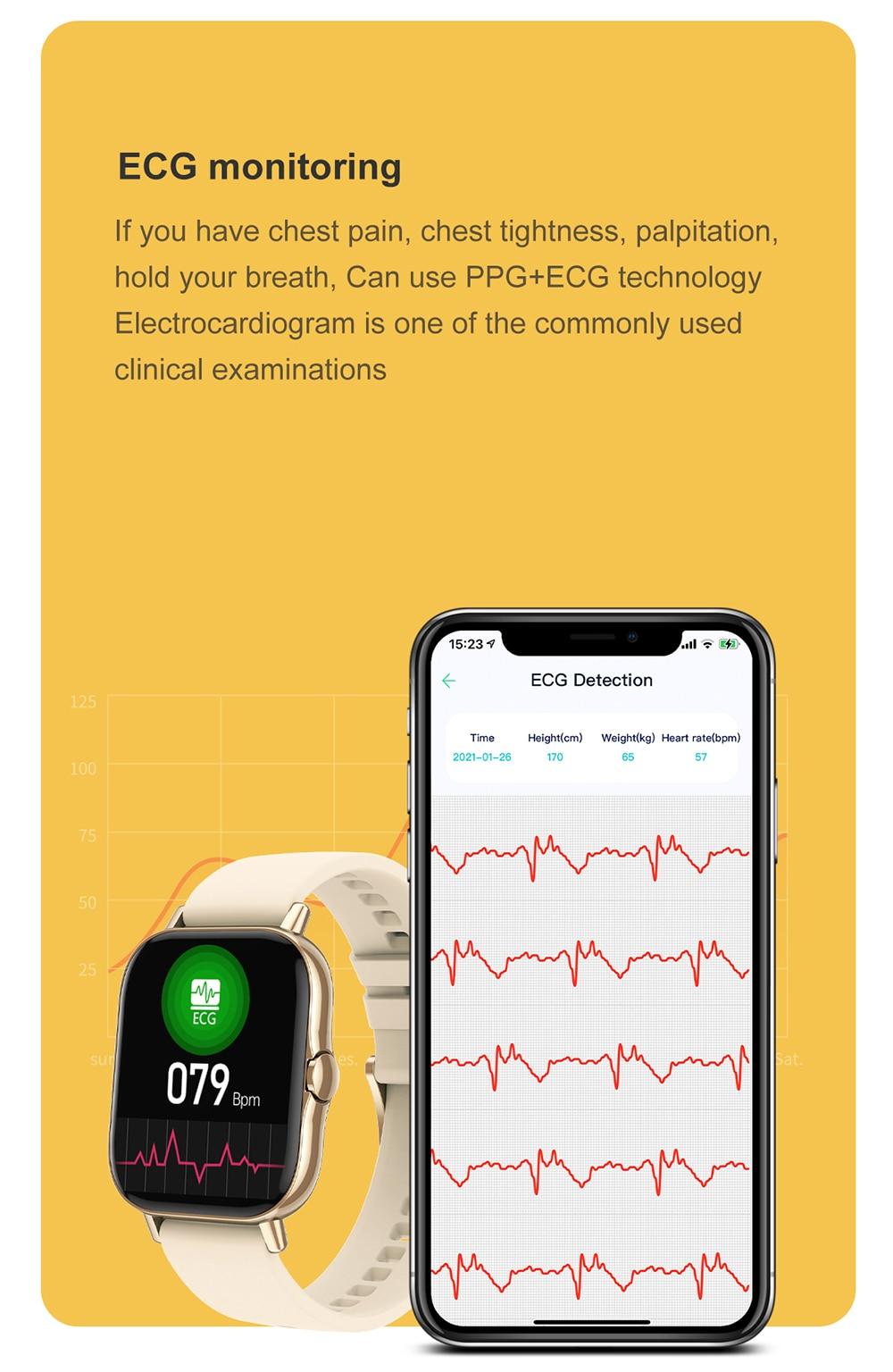 smartwatch 2021 para xiaomi telefone pk p8 plus y20