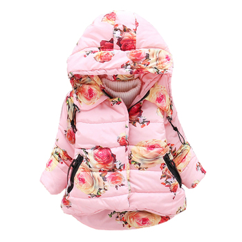 Baby Girls Jacket Winter Jacket for Girls Coat Warm Hooded Outerwear Coat for Girls Parkas Clothes Children Jacket thicken warm winter down jacket for girls hooded long teenage girl parka for girls 5 14 years kids outerwear coat children snows