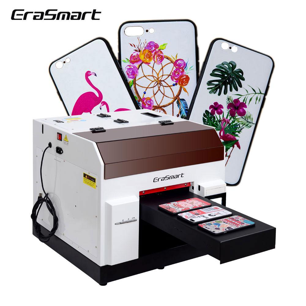 A4 Flat Uv led Printer Roll Wood Varnish Uv Printer Machine For Cup Pcb Wood Glass