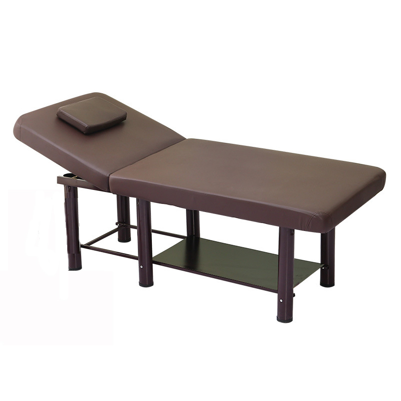 Professional Portable Spa Massage Tables Portable Salon Furniture PU Massage Bed Multifunction Thick Beauty Massage Table 185X70