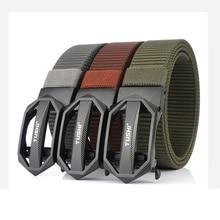 Belt AWMN for Trousers Pants High-Quality Buckle Business-Belt Tactical-Belt Canvas Metal