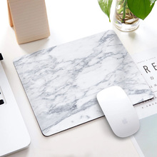 Marble Non-slip Mouse Pad Office Desk Mat Desktop Accessorie