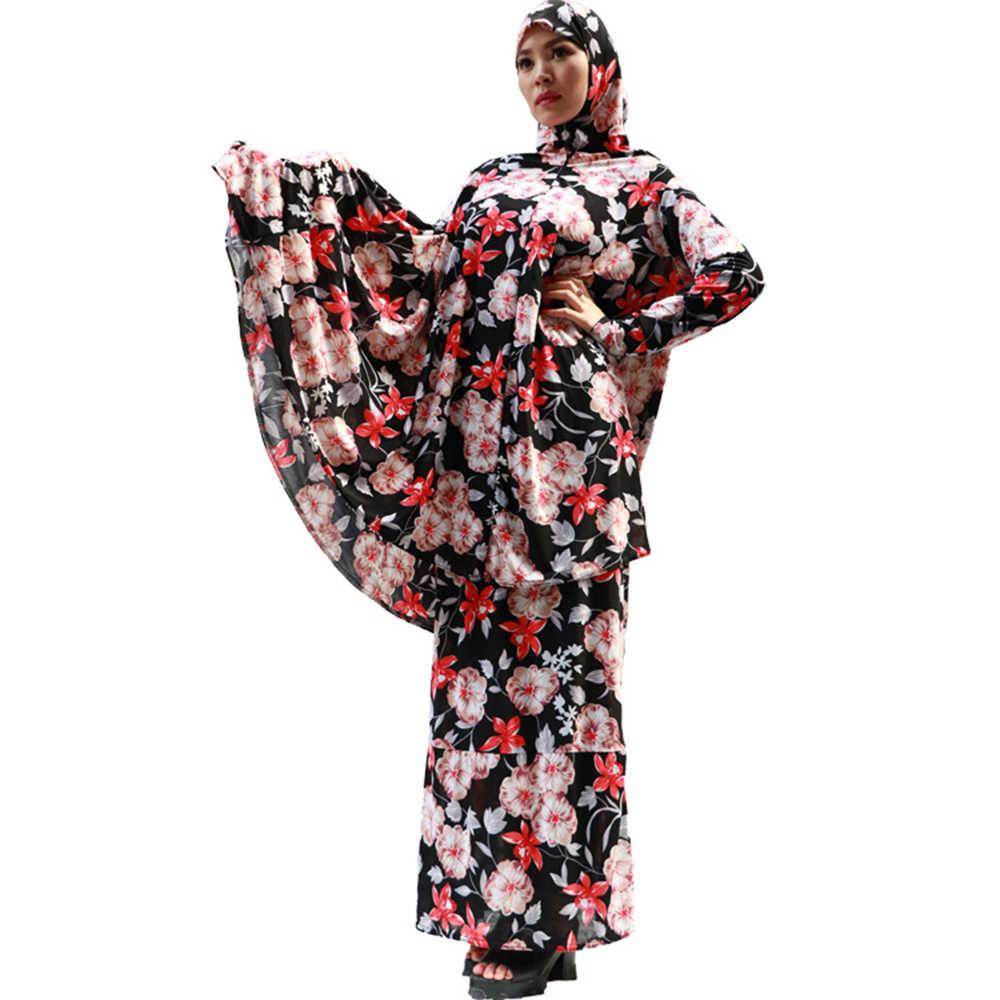 Ramadan Kinder Islamische Kleidung Eid Mubarak Abaya Türkei Arabisch Hijab Muslimischen Kleid Set Mädchen Kaftan Dubai Kaftan Afrikanische Kleider