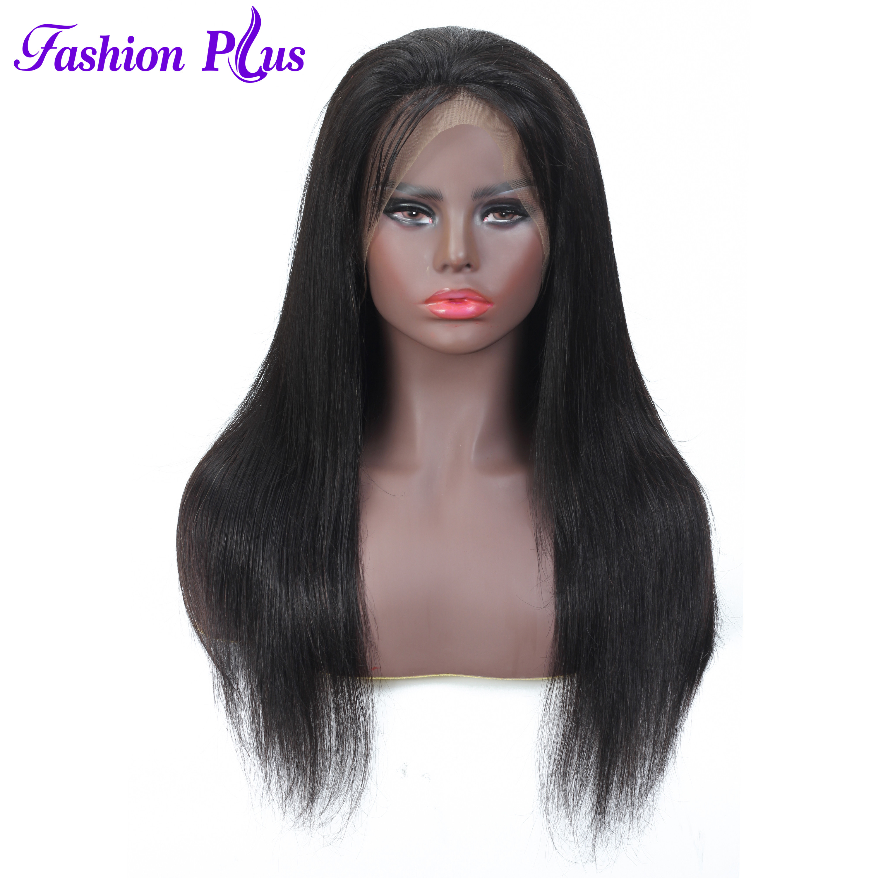 360 Lace Frontal Wigs 100% Human Hair Pre Plucked With Baby Hair Brazilian Straight Remy Hair Wigs For Women 150% Density