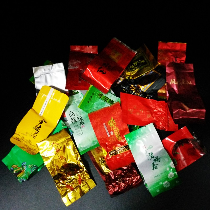 18 Different Flavors Chinese Tea Each tea Two bags Includes Milk Oolong Pu-erh Herbal Flower Black Green Tea 1