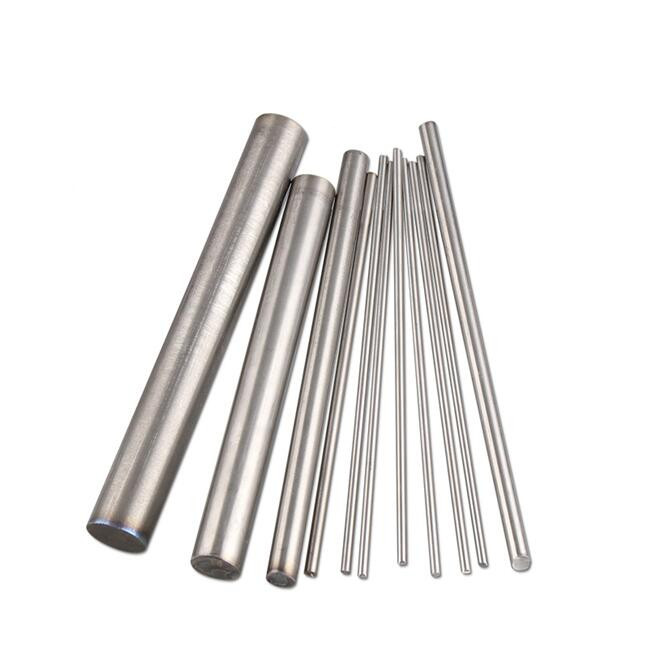 4Pcs Round Titanium Ti Bar Grade 5 GR5 TC4 Metal Rod Diameter 3/4/5/6/7/8/9/10 Mm Diameter Length 250mm
