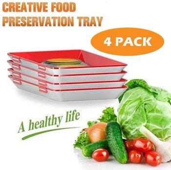 4 шт., поднос для хранения пищевых продуктов