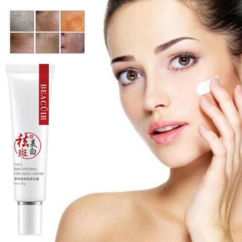 1pcs Freckle Cream For Anti-Wrinkle Face Stains Guaranteed Cream And Day Health Beauty Care Skin Moisturizing Whitening Res V9F5