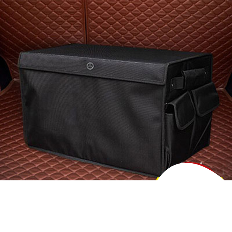 Lsrtw2017 Car Interior Trunk Storage Bag Storage Bucket for Mercedes Benz GLE GLS MLGL C Class V Class G Class Vito image