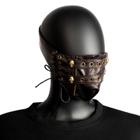 Halloween Cosplay Steampunk Adult Ghost Head Anime Mask Men And Women Game Show Rock Party Mask