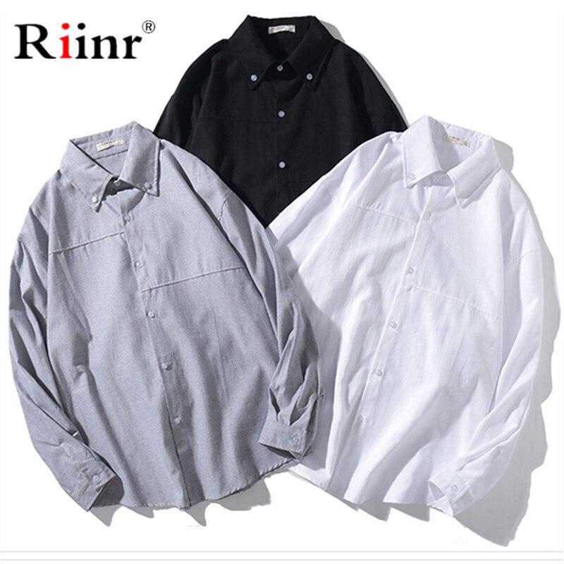 Riinr New Men Plaid Casual Shirts Mens Fashion High Quality Slim Fit Dress Shirts Male Long Sleeve Tuxedo Shirts