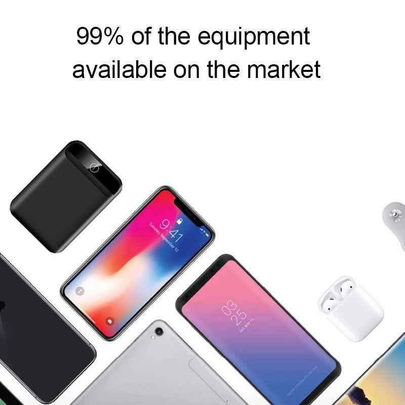 Ultradunne 5600 Mah Power Bank Draagbare Usb Batteria Oplader Powerbank Externe Batterij Pover Bank Voor Xiaomi2 IPhone8 X