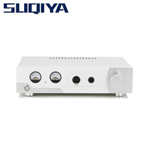 лучшая цена SUQIYA-Hi end Headphone Amplifier DCP-1KMKII Fully Split Pure Class A Stereo Amplifier 2.1 Power Amplifier