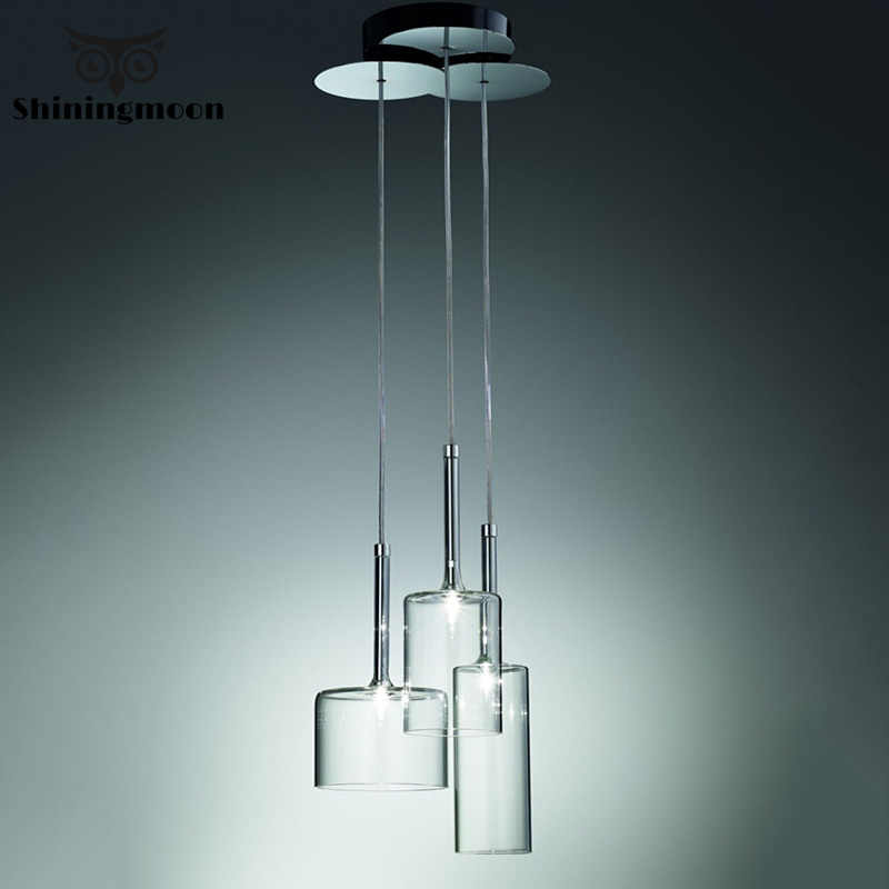 Современная стеклянная бутылка креативные подвесные светильники AXO SPILLRAY