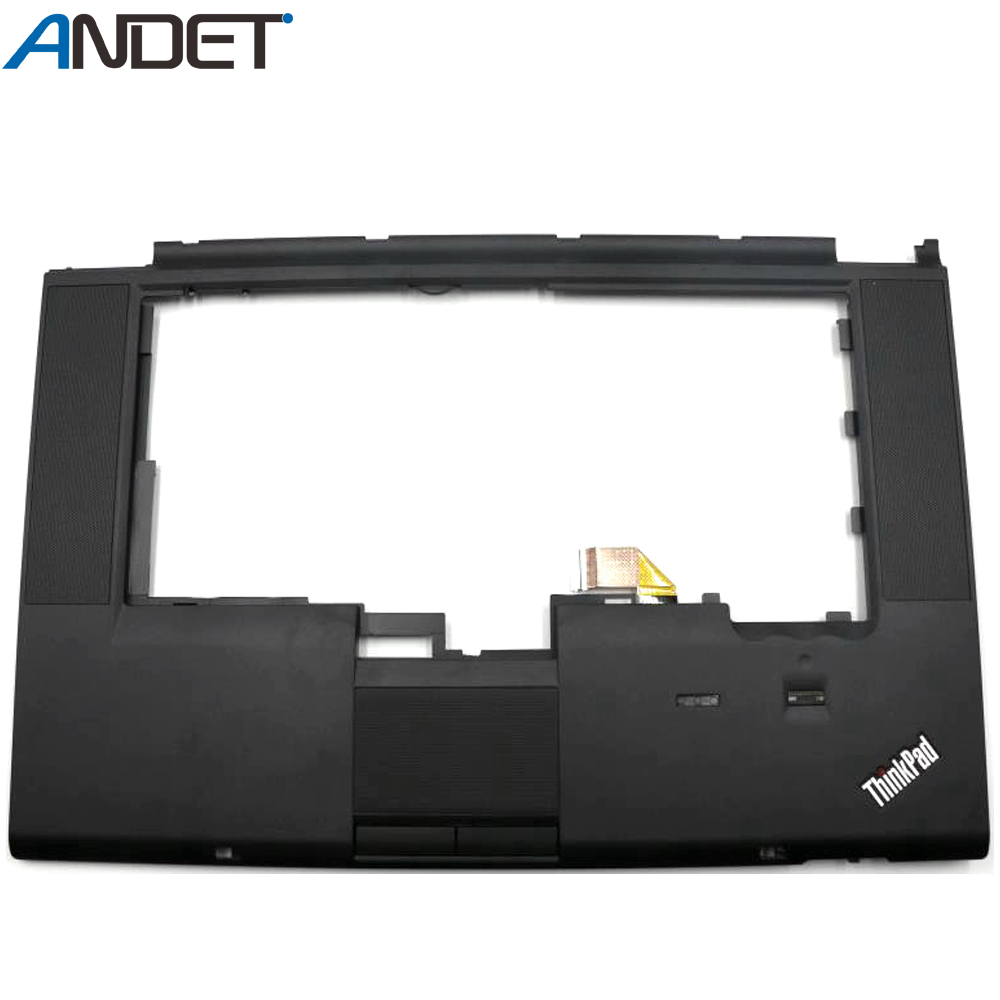 New For Lenovo Thinkpad T520 T520I W520 Palmrest Empty Cover Upper Case KB Bezel with FP&CS Hole 04W1367 04W1368 04W0606 04X3737 image