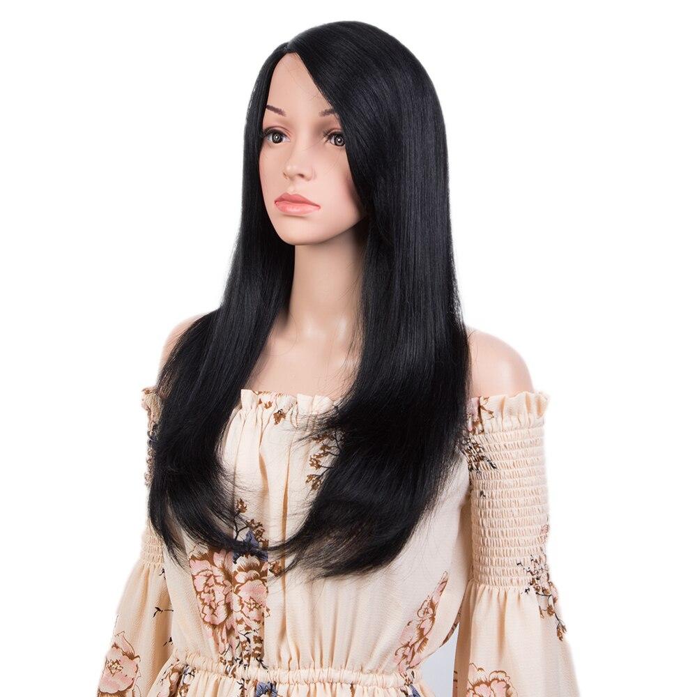 Elegante perucas de cabelo humano para as