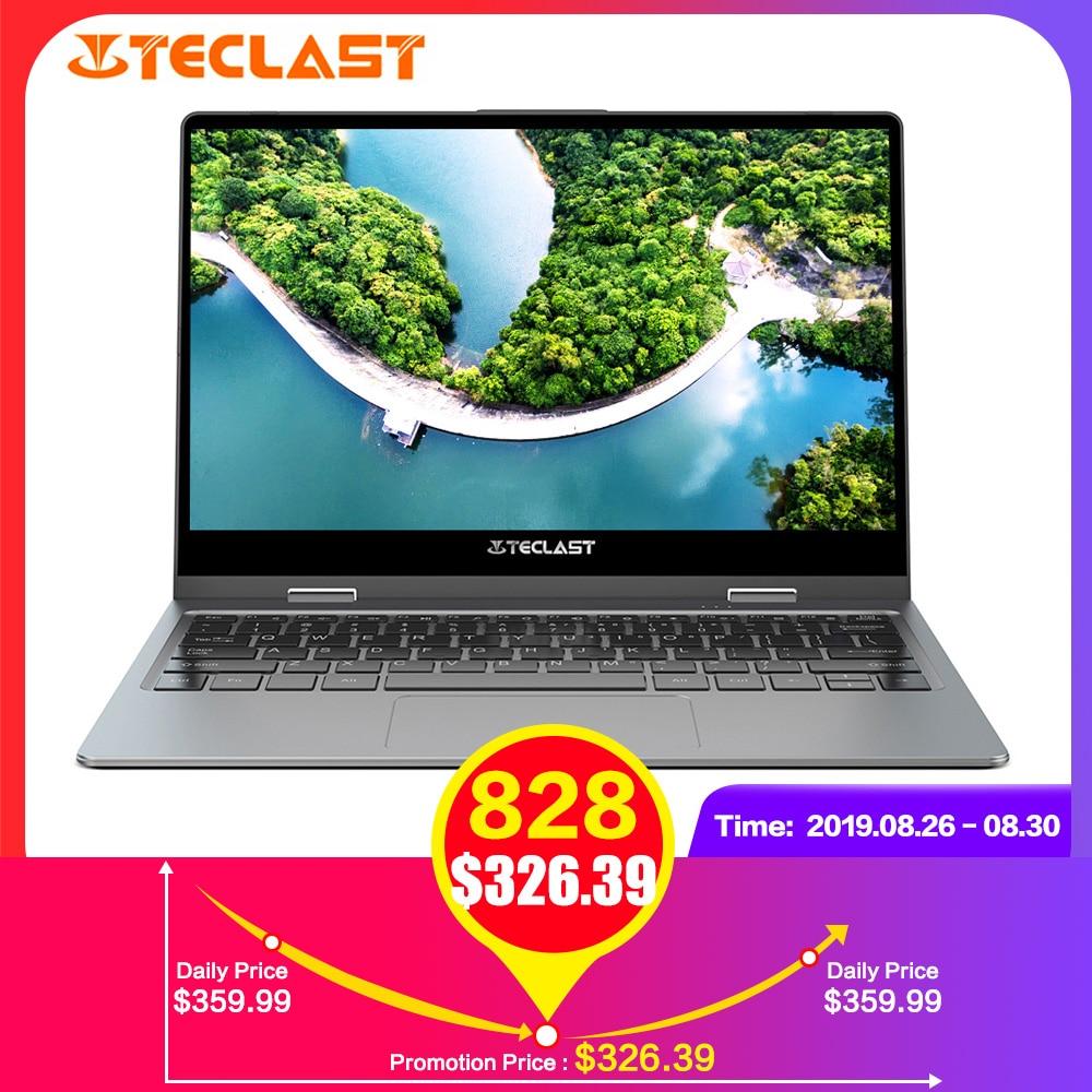 Teclast F5R Laptop 11.6 ''IPS o Windows OS Intel APLLO 10 LAGO N3450 Quad Core 8GB de RAM 256GB SSD 360 ° Rotação Da Tela De Toque HDMI