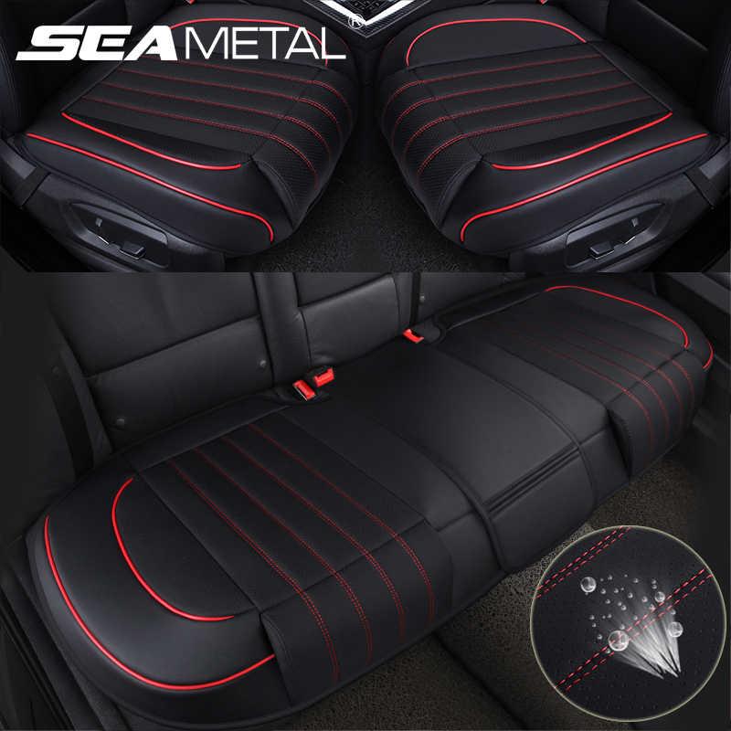 Дышащий чехол для автомобильного сиденья из искусственной кожи, универсальный защитный коврик для автомобильного сиденья, коврик для автомобильного сиденья, аксессуары для интерьера