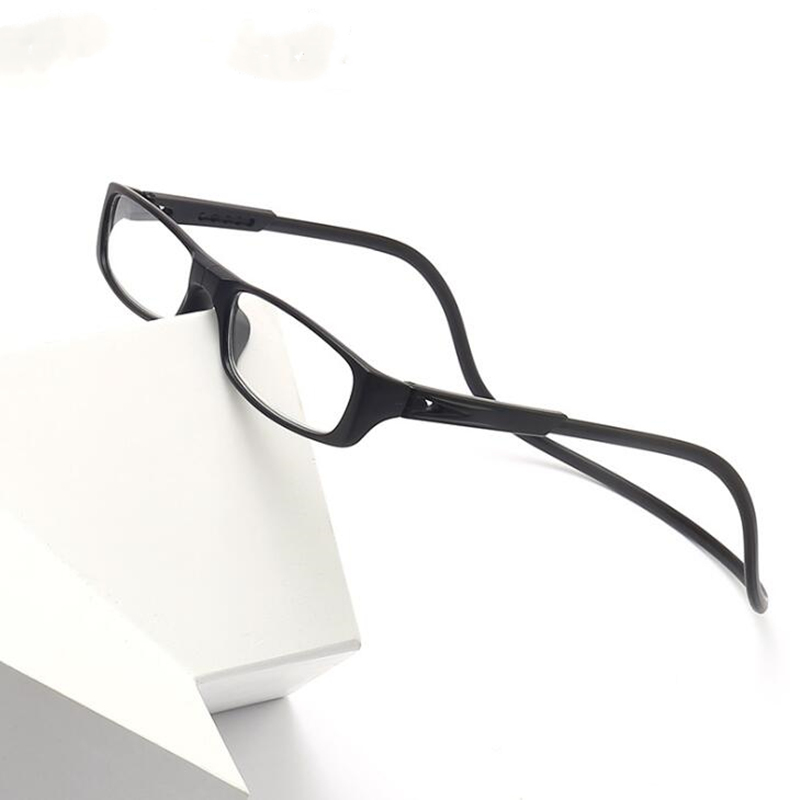 GLTREE New Adjustable Magnet Reading Glasses Colorful Enhanced Men Women Hanging Magnetic Neck Before Presbyopic Glasses GNS20