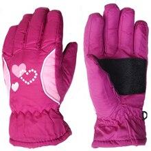 3 10Y Kids Winter Warm Gloves Children Boys Girls Ski Cycling Climbing Outdoor Gloves Waterproof TQ055