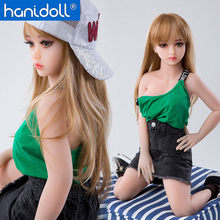 Silicone Sex Dolls 100 cm Mini Love Doll TPE Sex Doll Full Sized Realistic Ass Oral Vagina Breast Small Sex Toys for Men(China)