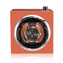 New Colorful Free Cover Single Automatic Mechanical Watch Winder Box Mover Rotator Winding Box Watch Accessories Remontoir