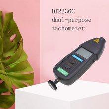 DT2236C 2 в 1 Детектор скорости метр лазерный RPM Тахометр светодиодный цифровой оптический контакт тахометр детектор метр