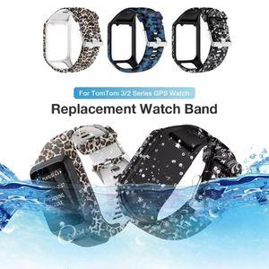 Image 3 - عالية الجودة سيليكون استبدال ساعة معصم حزام الفرقة ل TomTom عداء 2 3 شرارة 3 GPS الرياضة ساعة ل توم توم 2 3 سلسلة