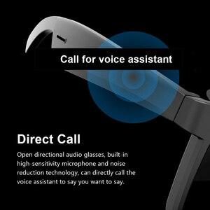 Image 3 - A3 2 ב 1 משקפי חכמים אלחוטי Bluetooth אוזניות BT5.0 מוסיקה משקפיים חיצוני רכיבה על אופניים משקפי שמש ספורט אוזניות עם מיקרופון