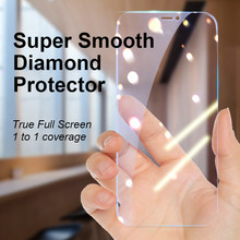 Ellie 9D Tempered Glass For iPhone 11 12 Mini Pro Max Screen Protector For iPhone X Xr Xs Max 7 8 Plus SE2020 Full Cover Glass