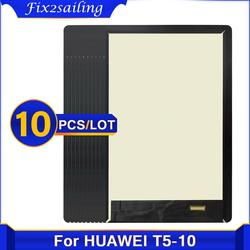 10PCS Für Huawei MediaPad T5 10 AGS2-L03 AGS2-W09 AGS2-L09 AGS2-AL00HA LCD Display Touch Screen Digitizer-bereich Montage 10.1''