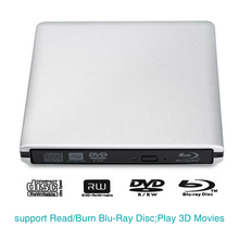Ultra-thin High-speed External USB 3.0 DVD RW CD Burner Card Reader CD Burner for Any Laptop Blu-ray Drive the beatles 1 2 blu ray cd